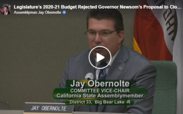 Legislature's 2020-21 Budget Cut Rejected by Budget Committee